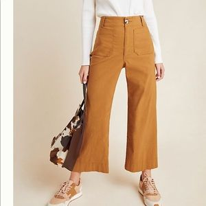 Anthropologie wise leg trousers size 27